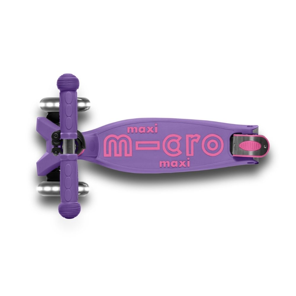 Maxi Micro Deluxe Foldable LED Morado